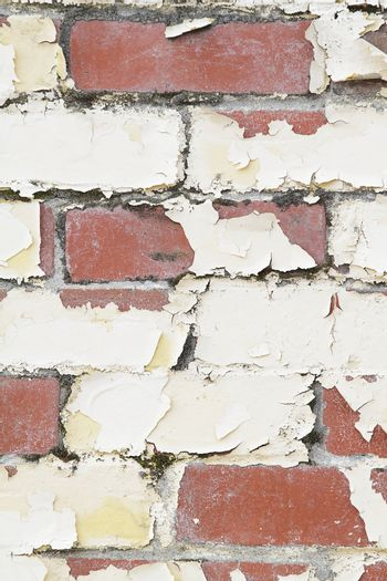 Old weathered brick wall, good as background