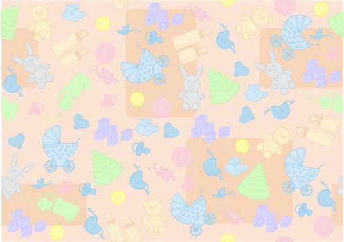 seamless background for children