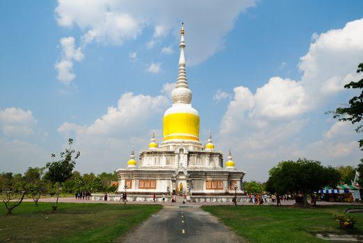 Phrathat Nadun Maha Sarakham ,Thailand