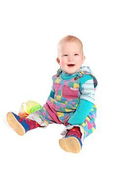 The happy kid