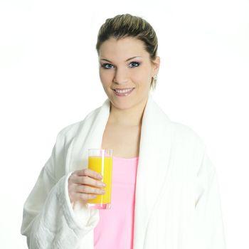 orange juice for vitamin
