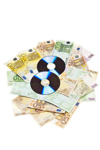 Compact Disks with euros