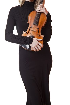 Woman Hold Viola