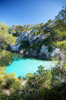 Menorca cliff