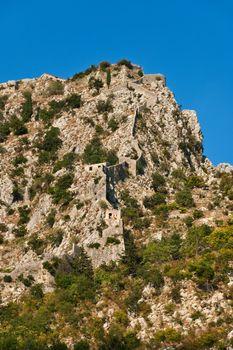 Old Fortress St. John (San Giovanni) in Kotor, Montenegro