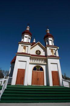 Ukrainian Orthodox Church in Riverton Manitoba