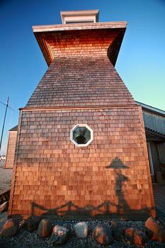 Unique structure at Gimli Manitoba
