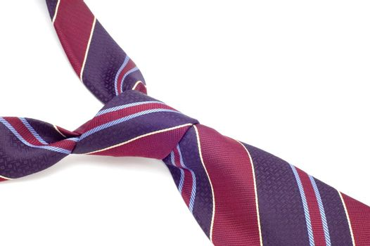 series object on white - fashion - colored tie