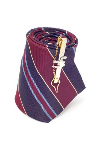 series object on white - fashion -cuff link on tie