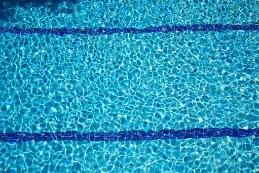 bottom of swimming pool