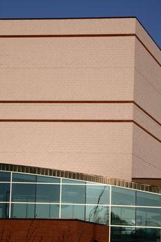 modern building in Saskatchewan