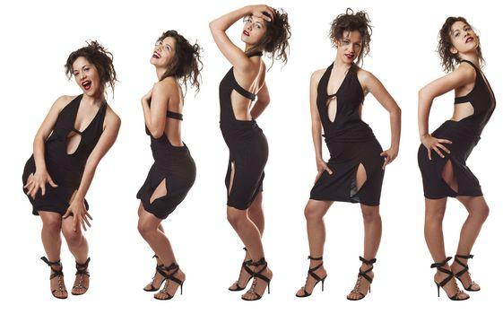 Model Posing Series