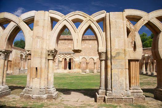 broken cloister columns