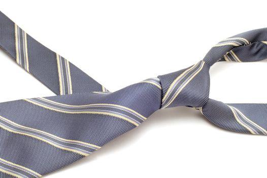 series object on white - fashion - Grey tie