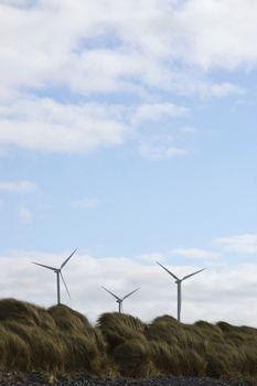 windmills on the west coast of ireland