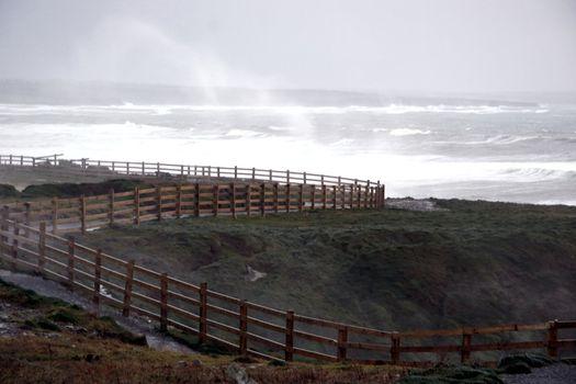 a west coast storm