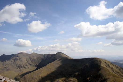 a view from a mountain in kerry