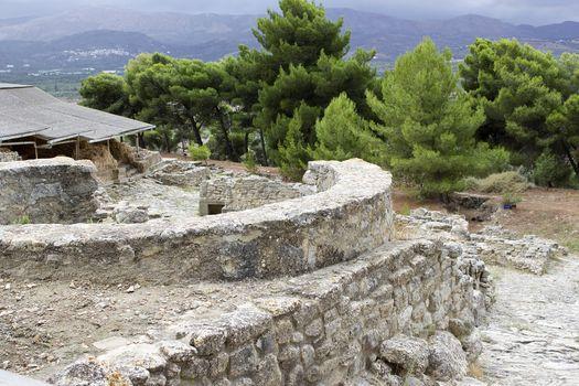 Phaistos or Festos, ancient city on the island of Crete