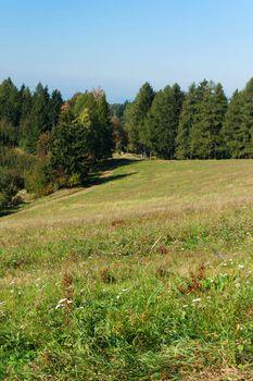 Countryside landscape in Northern Bohemia - Czech Republic