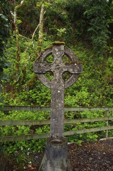 a celtic cross in ireland