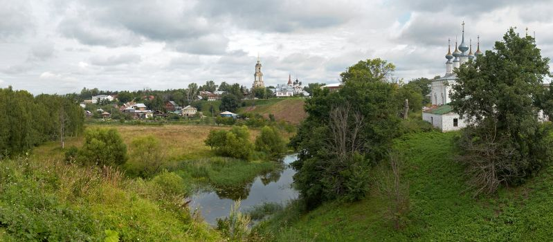best view of Suzdal.Russia. XXXL detailed panorama
