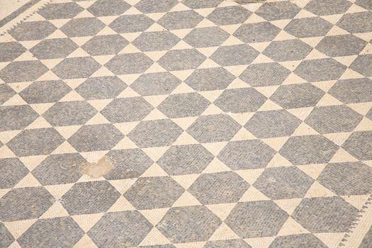 detail of ancient mosaic