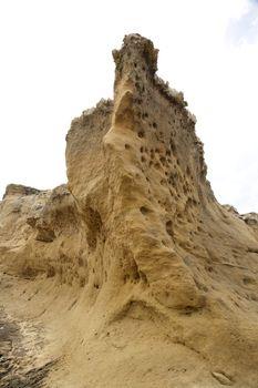 tall rock