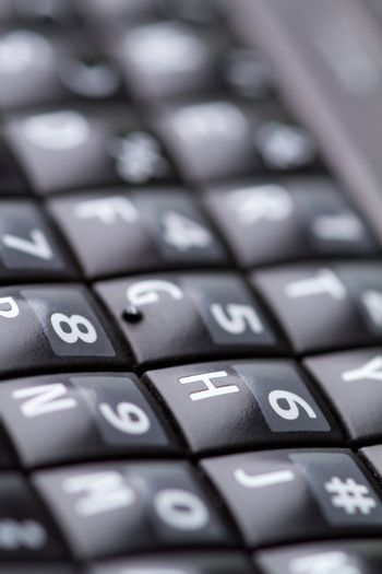 qwerty keypad from cellphone