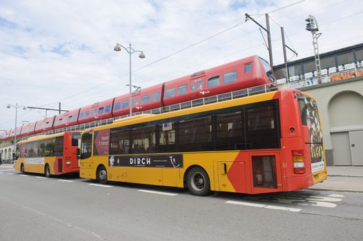 Municipal transportation in Copengagen, Denmark