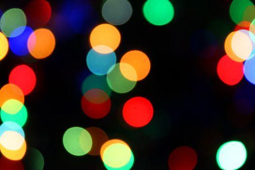 blurred color lights background
