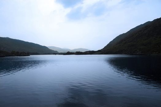 scenic view of a killarney lake