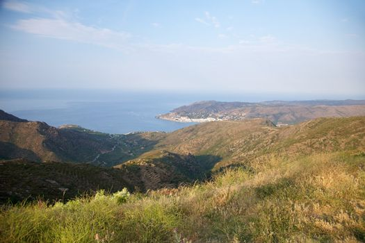 coastline at Port Selva