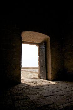 door indoor