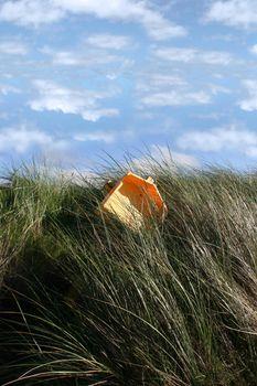 sand dunes on the west coast of ireland