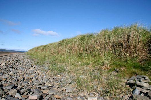 rocky beach on the west coast of ireland