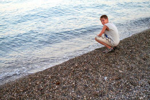 Youth On The Coast Of Sea