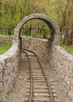 Children's attraction - railway