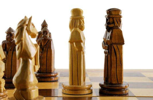 opposition two chess king