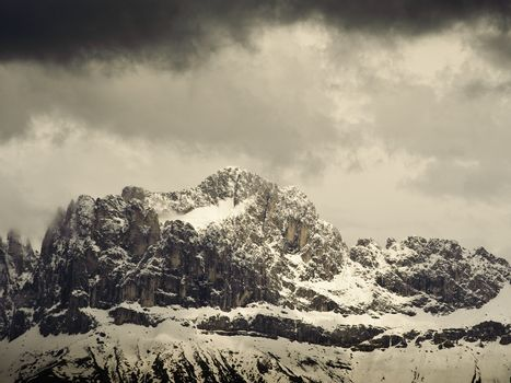 Mountain Range in South Tyrol