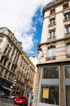 Urban scene from Lyon, France