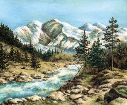 The Altay landscape