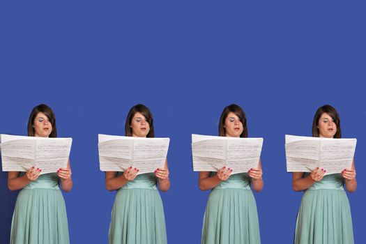 virtual choir singing