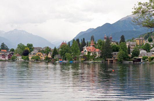 Alpine Summer Lake View. Austria