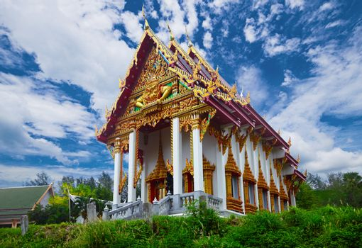 An old Buddhist temple