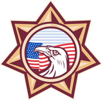 american eagle stars and stripes flag star