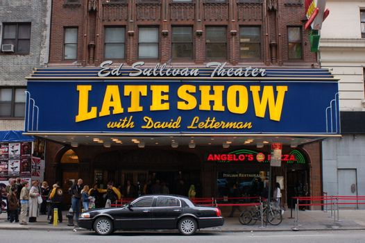 Ed Sullivan theater in New York City
