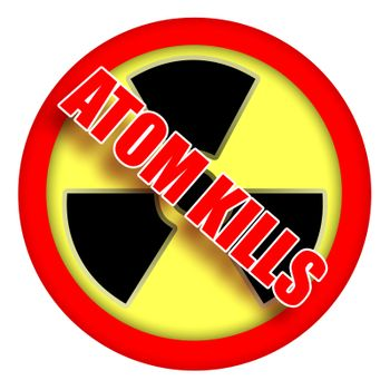 Atom Kills Sign