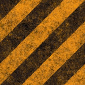 Diagonal hazard stripes texture.  These are weathered, worn and grunge-looking.  This tiles seamlessly as a pattern - fully tileable in any direction