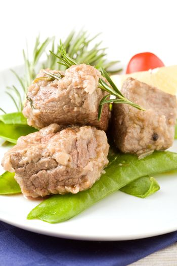 Beef Steak with with Rosemary