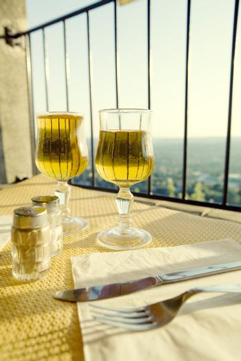 Restaurant with a panoramic view
